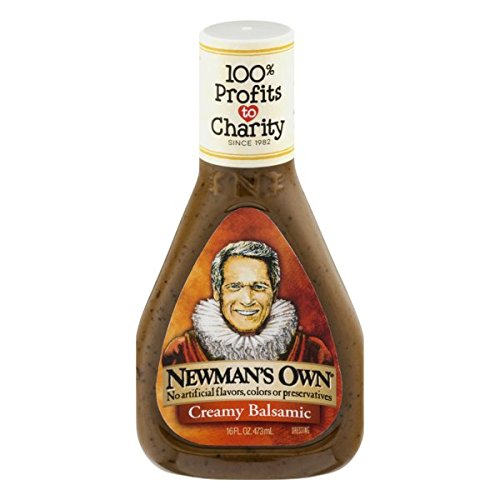 Newman's Own Salad Dressing, Creamy Balsamic, 16 Ounce
