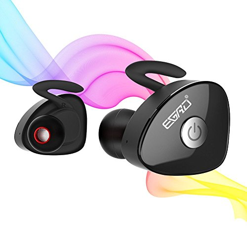 Bluetooth Headphones, EGRD Dual Wireless Earbuds True Mini T