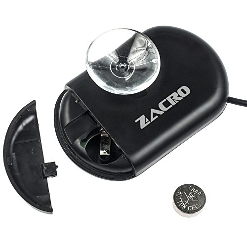 41ldd9y0fPL - Zacro Pack of 2 LCD Digital Aquarium Thermometer Fish Tank Water Terrarium Temperature