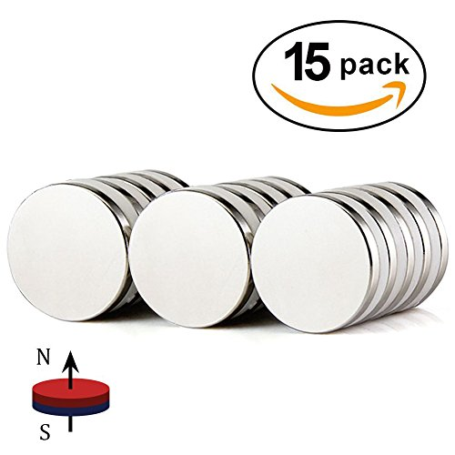 Strong Rare-Earth Magnets (Silver) - 9