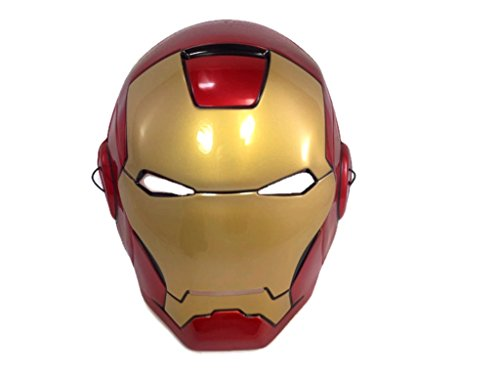 Baby Girl Iron Man Costume (Marvel Superhero Basic Mask :BM (Iron Man))
