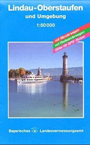 Topographische Karten Bayern, Bl.11, Lindau, Oberstaufen und Umgebung (UK50 Umgebungskarte 1:50000 Bayern Topographische Karte Freizeitkarte Wanderkarte)
