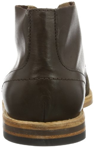 Hudson Houghton - Botas chukka de cuero hombre marrón - marrón