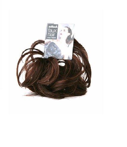 Scunci Curly twt w/ braids-dk. brnt, 1 Pound