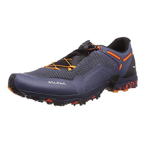 (Salewa Ultra Train 2 Trail Running Shoe - Men's Grisaille/Dawn, 9.0)