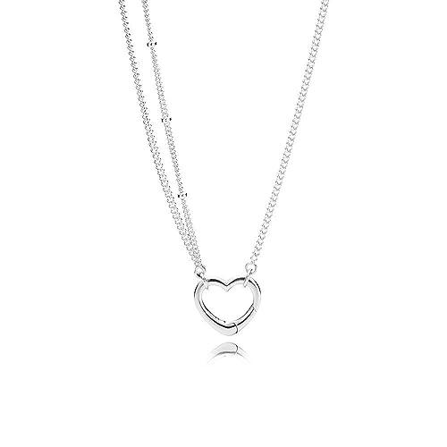 moda firmata 48efa 688ce Pandora Collana con ciondolo Donna argento - 397204-70