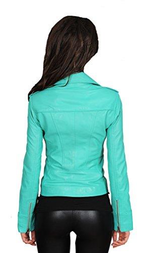 Turquoise Blouson Femme Goods Fashion A1 qISXpx6x