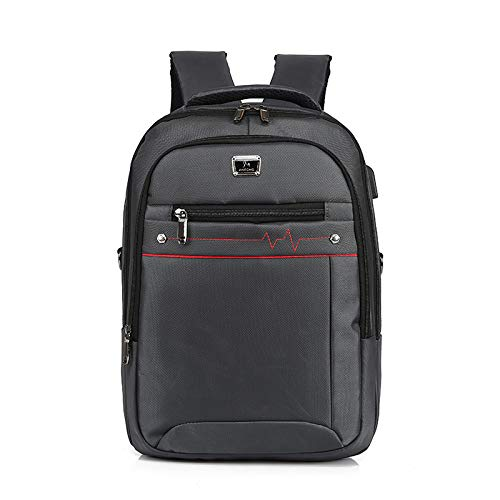 Grande Uomo Man Usb Ricarica Backpack Lywljg Shoulder Zaino A Bag Capacità Business Computer twqEqUY