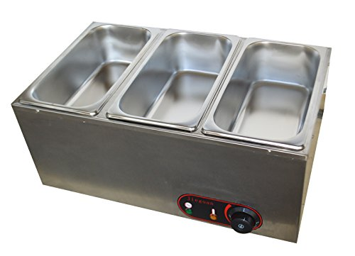 Three Pan Chocolate Melter Electric Melting Machine Melt Hot Pot (3-pan)