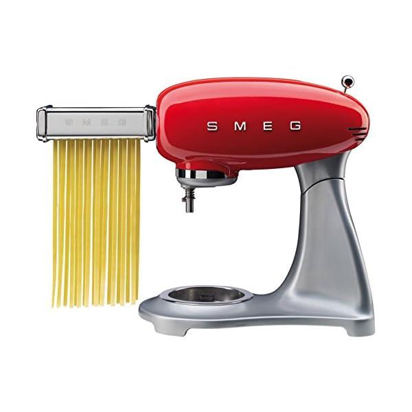 Smeg SMPC01 Pasta Roller & Cutter Set, Silver 2