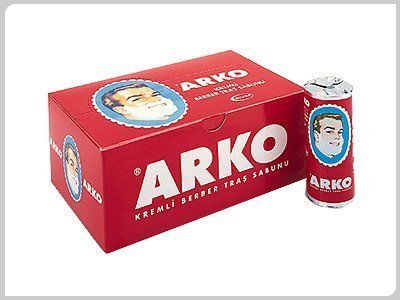 Arko Shaving Soap Stick - 12+3 free pcs. by Arko