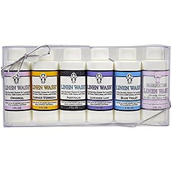 Le Blanc® Linen Wash Gift Set - Six 2 FL. OZ. Sample Bottles of All Linen Wash Fragrances, 2 Pack
