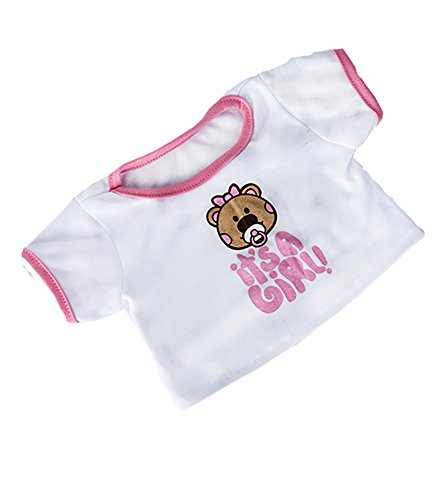It's A Girl T-Shirt Teddy Bear Clothes Fits