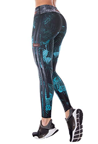Drakon Many Styles of Crossfit Leggings Women Colombian Yoga Pants Compression Tights (Fier)
