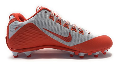 Nike Mens Alpha Pro 2 3/4 Td Tacchetti Da Calcio Bianco / Arancione Flash