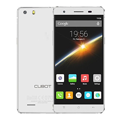 Cubot X16S Smartphone 5.0inch IPS OGS HD Screen 1280720px 3GB RAM 16GB ROM Android 6.0 OS 13.0MP+8.0MP Dual Camera MT6735A 1.3GHz Quad-Core 2700mAh Battery Support OTG GPS HOTKNOT by CUBOT