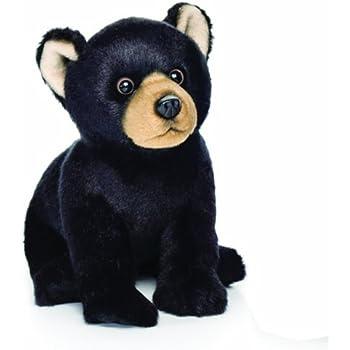 Nat and Jules Black Bear Plush Toy, Small