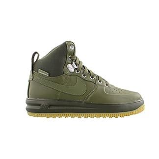 Nike Lunar Force 1 Sneaker Boot Medium Olive/Medium Olive (Big Kid) (5 M US Big Kid)