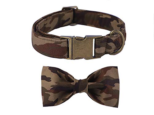Unique style paws Dog Collar Bow tie Collar Adjustable Collars for Dogs and Cats Small Medium Large