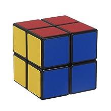 USATDD Magic Cube 2x2 Black YJ Stickerless Smooth Speed Cube Puzzle
