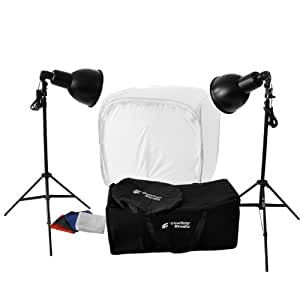 CowboyStudio Photography 800 Watt, 30-Inch Tabletop Tent Continuous Lighting Kit for Photo Studio and Product Photography