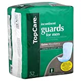 TopCare Incontinent Guards Diapers for Men - Thin Contour Fit