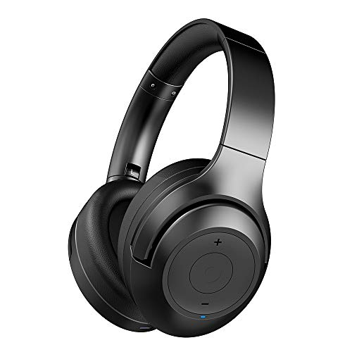 Active Noise Cancelling Headphones BT30NC,Bluetooth Headphones with Deep Bass, Wireless Headphones Over Ear, Comfortable…