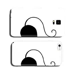 Funny big cat silhouette for your design cell phone cover case Samsung S6