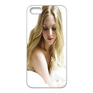 iPhone 5 5s Cell Phone Case White Charming Amanda Seyfried Oqdqe