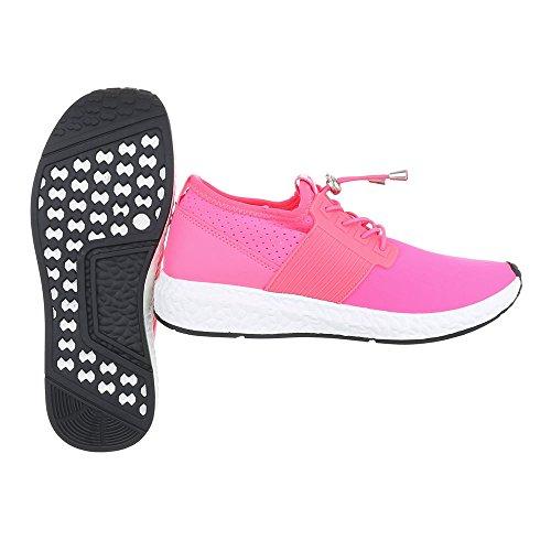 Ital-Design - Cerrado Mujer Pink 499-Y