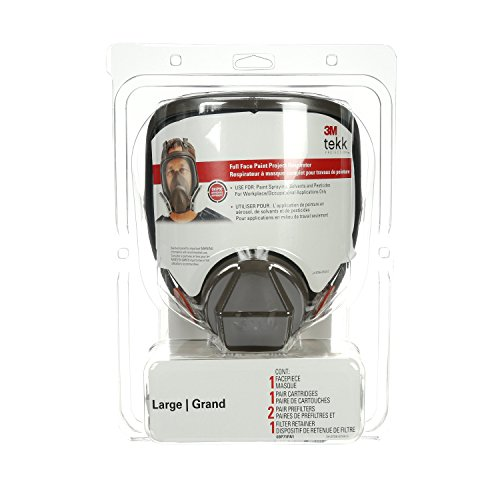 3M Full Face Paint Project Respirator, Large by 3M