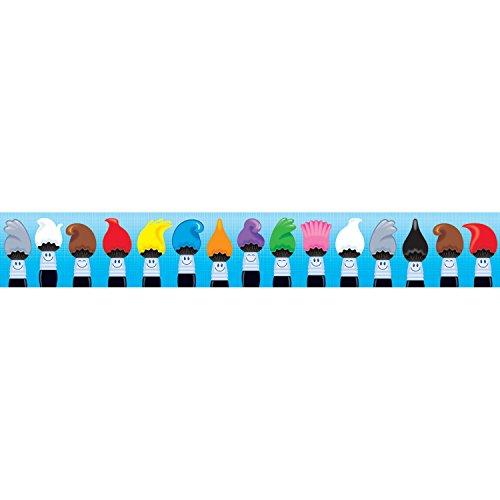 (TREND enterprises, Inc. Colortime Paintbrushes Bolder Borders, 35.75')
