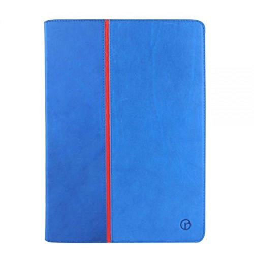 Redneck Coque pour Apple iPhone Business Line - Rabat folio - Bleu Apple iPad Air 2 bleu