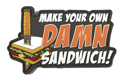 (Patriot Patch Co - Make Your Own Sandwich Patch)
