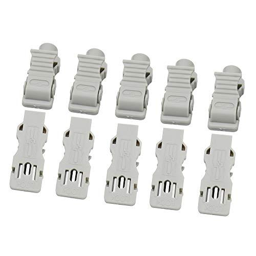 (Multi-Function ECG/EKG 3.0 Needle to Tab Adapters - 989803166031 White Package of 10PCS)
