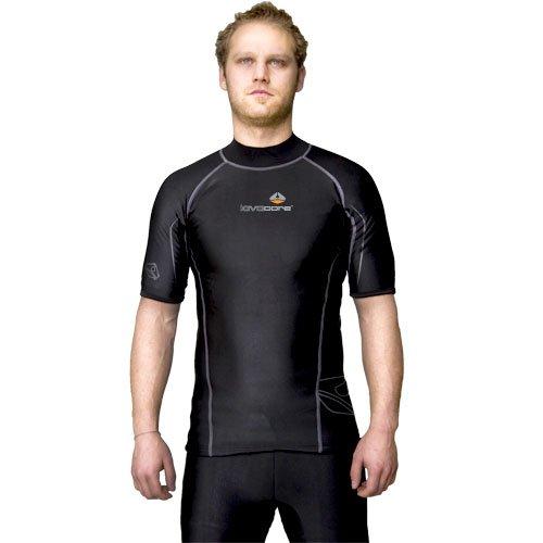 LavaCore Men's Short Sleeved Shirt (Black, X-Large) by Lava Core