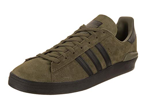 adidas Campus ADV (Olive Cargo/Black/Gold Metallic) Mens Skate Shoes
