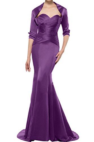 Missdressy - Vestido - plisado - para mujer morado 54