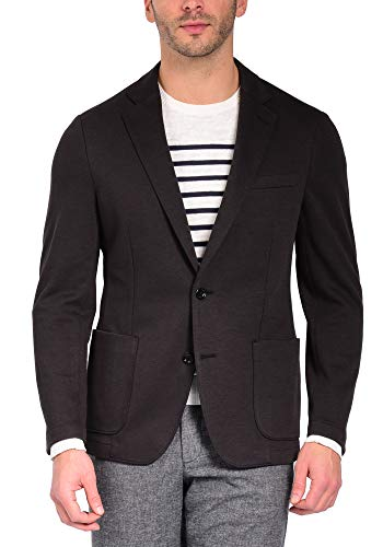Craft & Soul Men's Slim Fit Tailored Knit Casual Blazer Sport Coat