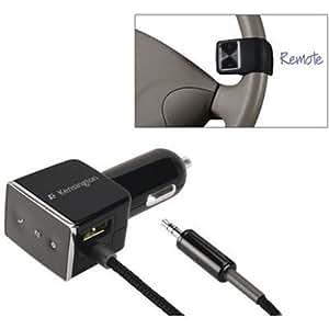 Kensington LiquidAUX Bluetooth Car Kit with Remote for Music Phones
