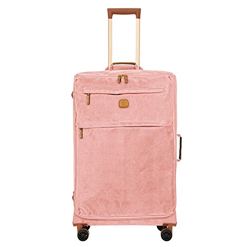 - Bric's Life 21 inch International Spinner Carry-on Luggage, Pink