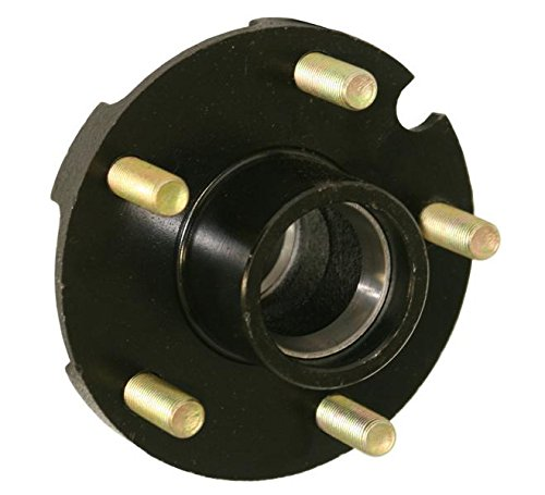 Small Flange Hub (Reliable Trailer Hub (Shorty) For 1-1/16 Inch Straight Spindles)