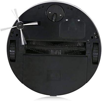 Ayanx Aspirateur de Voiture Intelligent Route Roue Universelle, télécommande sans Fil à Forte Aspiration et Collision Anti-Chute 6,5 cm Ultra-Mince, Rouge