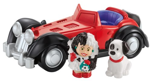 Fisher-Price Little People Disney 101 Dalmatians Cruella De Vil -