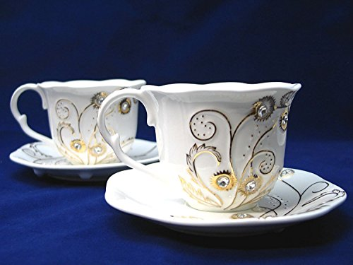 8 oz porcelain coffee cups - 9