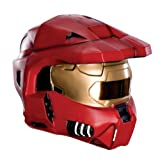 Halo Universe Spartan 2-Piece Mask, Red, One Size