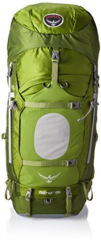 Osprey Men's Aether 85 Backpack, Bonsai Green, Large