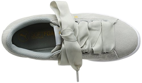 Basses Femme Puma Ribbon Sneakers Gris Vikky qwqOITat