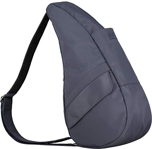 AmeriBag Healthy Back Bag Small Microfiber Shoulder Bag, Slate ()