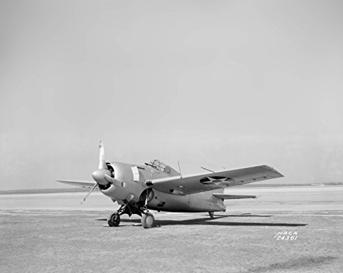 (Home Comforts Laminated Poster A U.S. Navy Grumman F4F-3 Wildcat at The NACA Langley Research Center on 20 March 1941.)